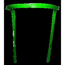 Подставка под куст малая (2 полудуги) стальная трубка