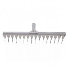 Грабли 16 зубьев витые (оцинкованная сталь)