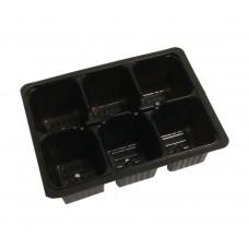 Кассета для рассады (мини) 6 ячеек (термоформ)
