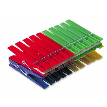 Прищепка пластмассовая 'Стандарт' YORK 9600 (упаковка 20 шт)