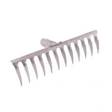 Грабли 8 зубьев витые (нержавеющая сталь)