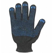 Перчатки с ПВХ полушерстяные 'Люкс'