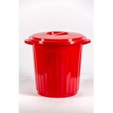 Бак 12л пластмассовый с крышкой для пищевых продуктов
