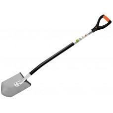 Лопата штыковая титановая  200*270 мм с черенком 'Ракета'