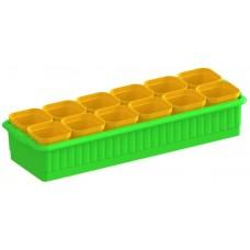 Ящик для рассады 'Дом и дача' на 12 стаканчиков