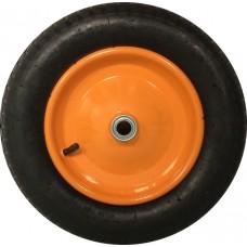 Колесо для тачки пневматическое 13'х3,25-8 среднее (ось 20мм*80мм)