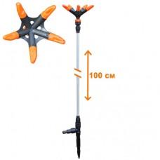 Распылитель удлиненный 'ЖУК' 5-х лепестковый для шланга 1/2'-3/4' (100 см)