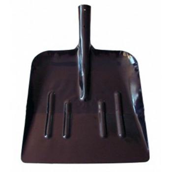 Лопата уборочная ЛУ 330ммх370мм с черенком (Борский трубный завод)