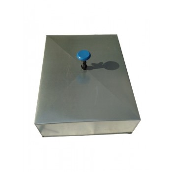 Бак душевой 150л оцинкованный с ТЭНОМ (электроводонагреватель)