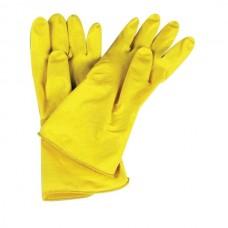 Перчатки хозяйственные ЛОТОС с хб/напылением (L,XL)