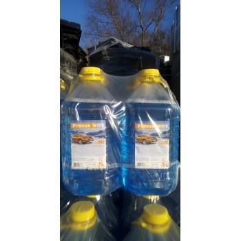 Жидкость незамерзающая для автостеклоочистителей 'Freeze WAY' желтая крышка 5л (-25°C)