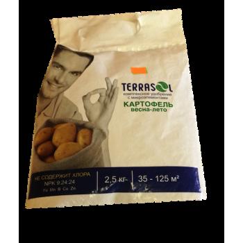 Удобрение сухое минеральное тукосмесь 2,5кг картофель Terrasol