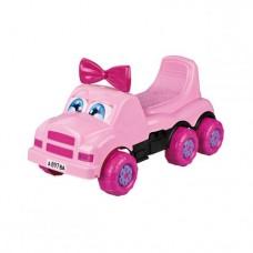 Машинка детская 'Веселые гонки' (розовая)