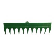 Грабли 11 зубьев газонные трамбовочные