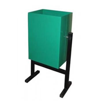 Мусорка 30 л металлическая прямоугольная (под заказ от 10 шт)