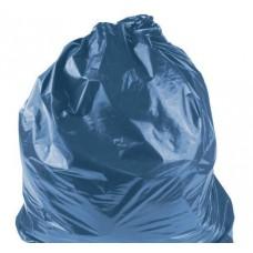 Мешки для мусора 120 л 50 мкм особопрочные,синие (ПВД)