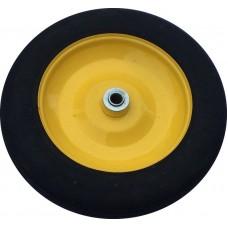 Колесо для тачки литое 13'х3 - 8 (ось 16мм*91мм) несущественные вмятины на диске