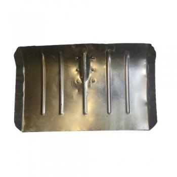 Лопата снегоуборочная 500ммх330мм ЛТР (алюминиевая/без черенка/1,5мм Мех)