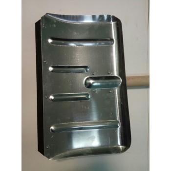 Лопата снегоуборочная 500ммх300мм ЛТР (алюминиевая/без черенка/1,5мм)