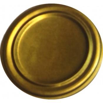 Крышка металлическая СКО 1-82 для закрывания банки 'Маранде' жесть,цена за упаковку 50шт.