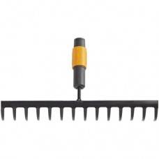 Грабли 14 зубьев прямые FISKARS QuikFit универсальные 1000653