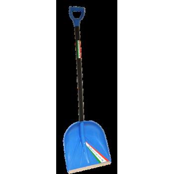 Лопата снегоуборочная 410ммх390мм 'ФЕЛИЧИТА' с черенком (модель 1022)