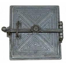 Дверка топочная с отражателем 'ЛЮКС' ДТУ-2 (323ммх305мм) Балезино