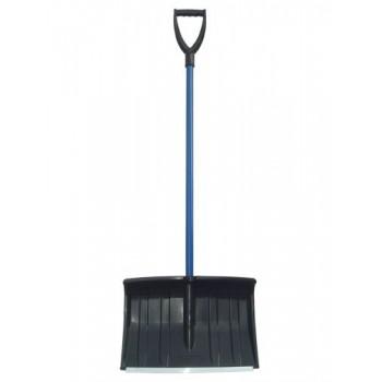 Лопата снегоуборочная 360х460 мм пластмассовая 'Древстрой Горыныч-люкс' с металл.черенком