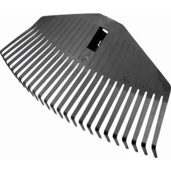 Грабли 25 зубьев веерные пластмассовые средние FISKARS, без черенка (135024)