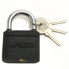 Замок навесной Апекс 3 ключа чугун