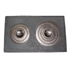 Плита 2-х конфорочная П2-5 (760ммх455мм) Балезино