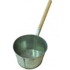 Ковш банный 3л оцинкованный