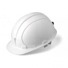 Каска строительная защитная БЕЛАЯ