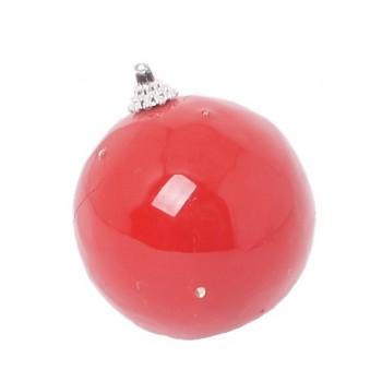 Шар новогодний светящийся 'Красный'