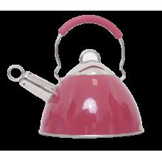 Чайник из нержавеющей стали 3л DJA-3034 (со свистком, капсульное дно)