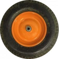 Колесо для тачки пневматическое 16'х4,00-8 большое (для 1 кол. тачки), (ось 12мм*95мм)