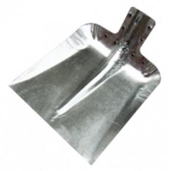 Лопата снегоуборочная 320ммх350мм ЛС №7 (оцинкованная 0,8мм/без планки)