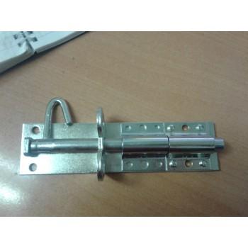 Задвижка дверная ЗТ -150 оцинкованная (хрущевская)