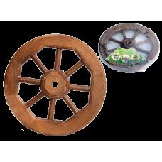 Колесо декоративное малое D-450мм (под заказ)