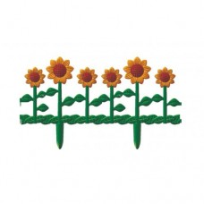 Забор декоративный L:62см H:29см (6 секции) 'Цветник №2' (М615)