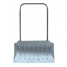 Движок с П-образной ручкой 750ммх430ммх1,5 алюминиевый с накладкой, 6 ребер жесткости (формованный)
