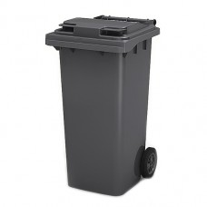 Контейнер для мусора 120л на колесах, серый