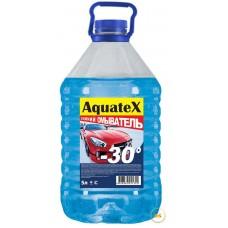 Жидкость незамерзающая для автостеклоочистителей AquateX 5л синяя крышка