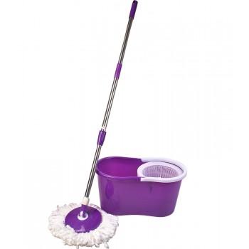 Комплект МОП СЕТ для мытья пола 'ЛЮКС' (ведро+швабра с центрифугой)
