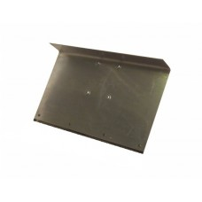 Движок однобортный 500ммх375мм алюминиевый с накладкой (нижнее крепление)