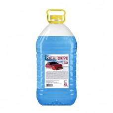 Жидкость незамерзающая для автостеклоочистителей 'синяя крышка' 5л (-20°C)