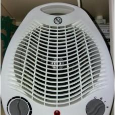 Тепловентилятор напольный с механическим термостатом, 2000 Вт