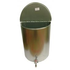 Рукомойник 30л оцинкованный (белый пластиковый краник)