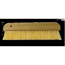 Щетка для обоев 305мм×15мм (1 ряд) искуственная щетина, деревянная ручка