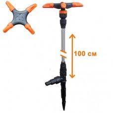 Распылитель удлиненный 'ЖУК' 4-х лепестковый для шланга 1/2'-3/4' (100 см)